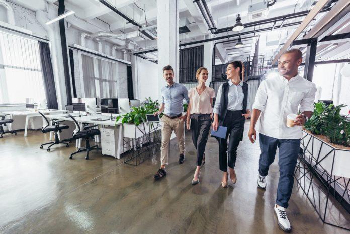 werkzones op kantoor